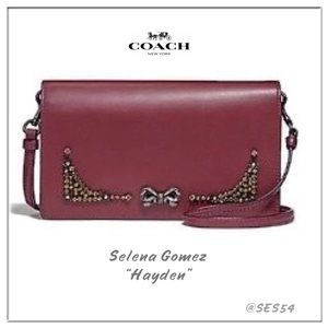Coach x Selena Gomez Limited edition Hayden wallet
